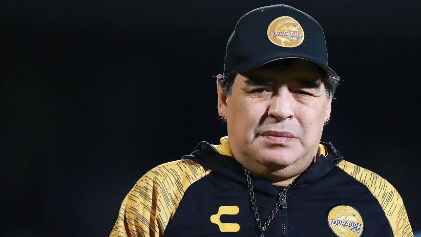 """Diego Maradona: """"¿La Selección? No veo películas de terror"""""""