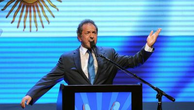 """Scioli: """"voy a ser precandidato a presidente al servicio de todos los argentinos"""""""