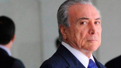 "Brasil: detuvieron al ex presidente Michel Temer por el ""Lava Jato"""