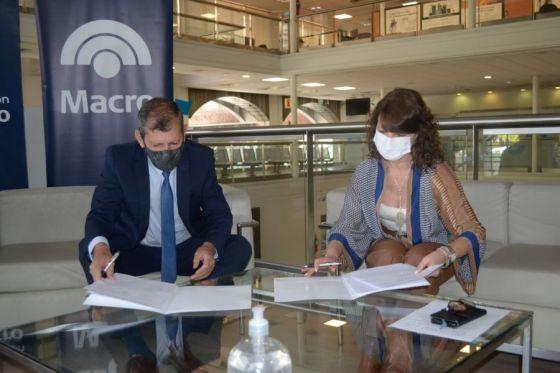 Con la cooperación del Banco Macro se fortalecen las áreas administrativas de Seguridad