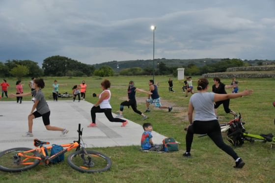 Carrera aventura, maratón y gym en los Parques Urbanos