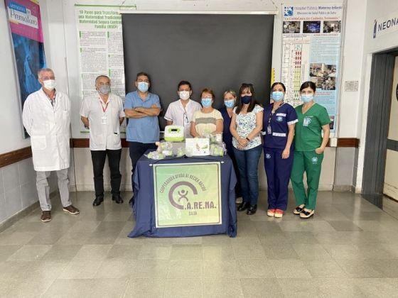 El hospital Materno Infantil incorporó una bomba extractora de leche materna
