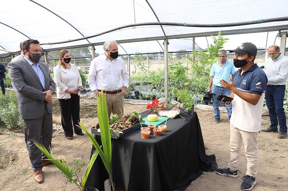 REMSa refaccionó los invernaderos de la Escuela Agrícola