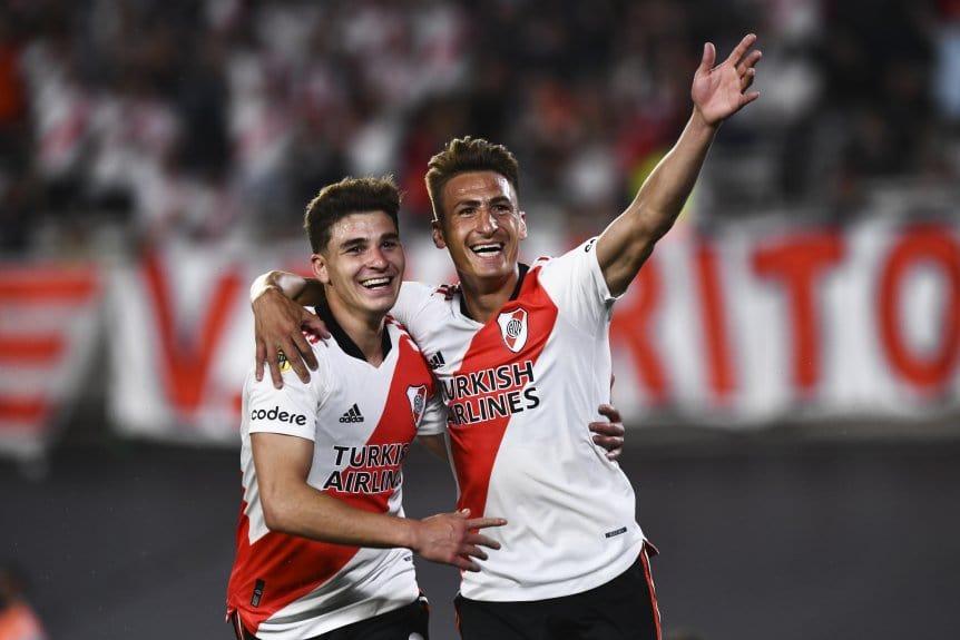 River, imparable: goleó a Argentinos y dio otro paso hacia el título de la Liga Profesional
